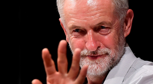 Under fire: Jeremy Corbyn
