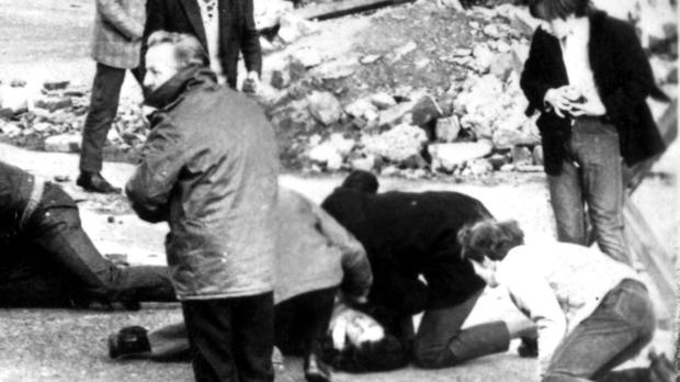 Thirteen people were killed on Bloody Sunday.