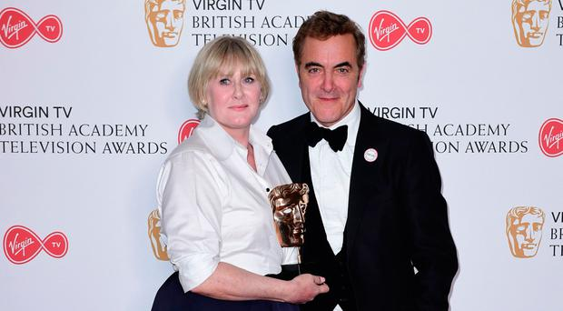 James Nesbitt and Sarah Lancashire