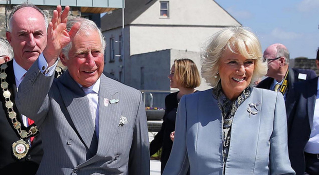 Prince Charles and the Duchess of Cornwall on their visit