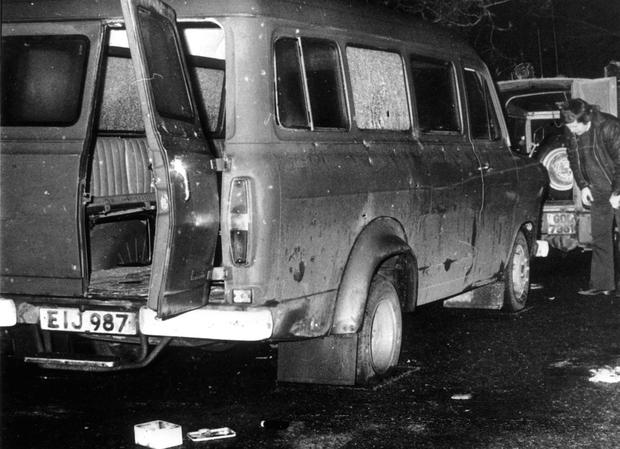 Ten workers were murdered after the IRA ambushed their van in 1976