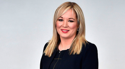 Michelle O'Neill, Sinn Fein's leader at Stormont