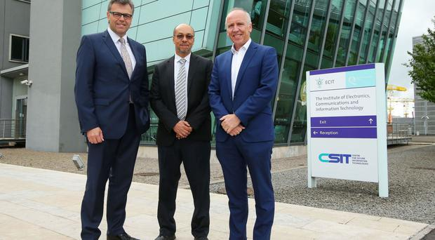 US-based internet security firm Anomali will create 120 jobs with the opening of its European Research and Development Labs in Belfast