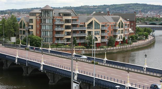 Bicycle enthusiasts want to name the stalled link across the Lagan the Hume Dunlop Bridge after pioneers from Belfast