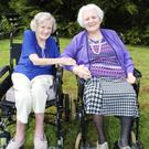 Gwen Parkhill (left) and Nan McLaughlin
