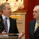 Tony Blair and Bertie Ahern worked with Northern Ireland politicians to secure the 1998 Good Friday Agreement