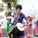 Belfast Mela host Carolyn Stewart of U105 drums up support for event