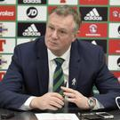 Saddened: Michael O'Neill