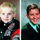 Johnathan Ball (3) and Tim Parry (12), died in the Warrington bomb of 1993
