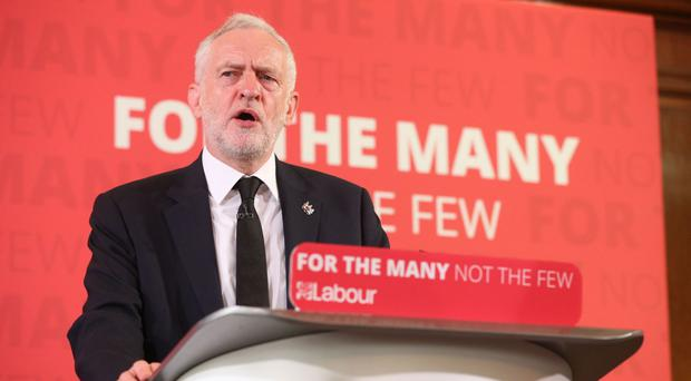 Labour Party leader Jeremy Corbyn is being targeted by the Tories as their opinion poll lead continues to slip