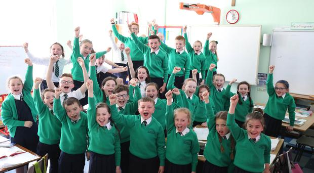 St Patrick's Junior Choir from Drumgreenagh in Co Down