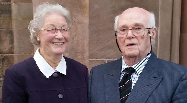 Murder victims Marjorie and Michael Cawdery