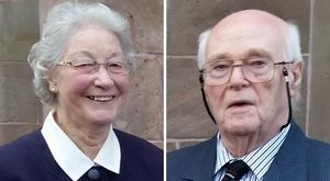 Marjorie and Michael Cawdery were found murdered in their own home in Portadown (PSNI/PA)