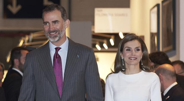 Visit hopes: King Felipe VI and Queen Letizia of Spain