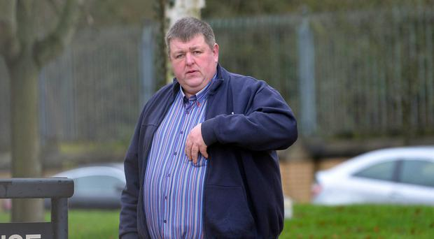 Co Antrim farmer James Steele at a previous court appearance (File photo)