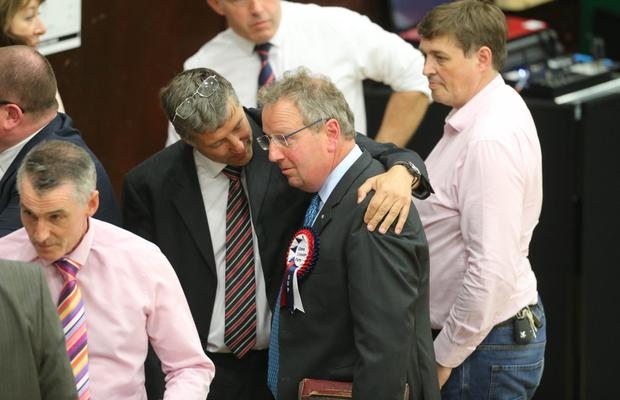 The UUP's Danny Kinahan lost his Westminster seat