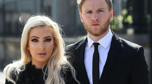 Model Laura Lacole and footballer Eunan O'Kane mounted a successful challenge against authorities for refusing to recognise their humanist wedding