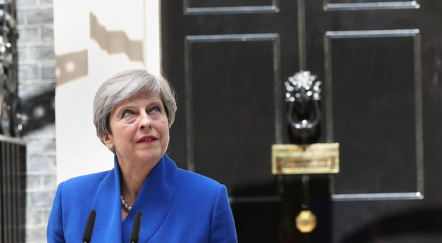 British PM Theresa May says she has no intention of resigning