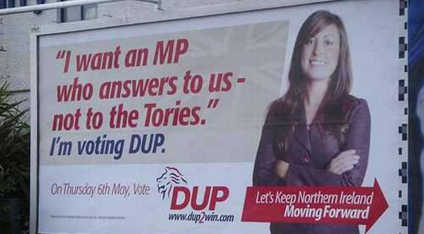 How DUP mocked the UUP alliance with the Conservatives in 2010.