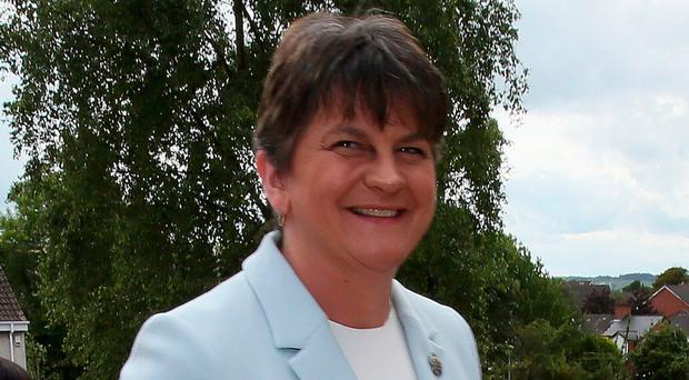 DUP meet May in London as concern grows about implications for Stormont