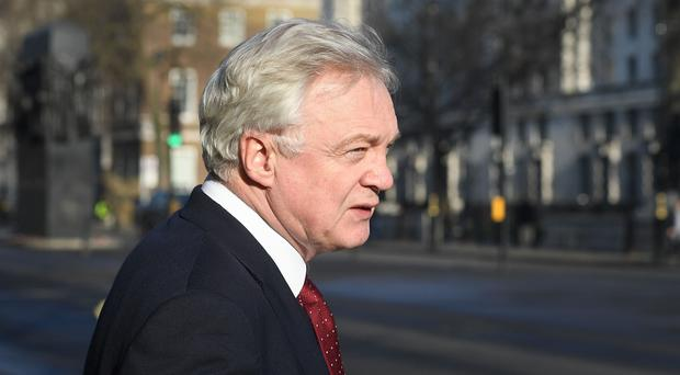 David Davis stressed his loyalty to the Prime Minister