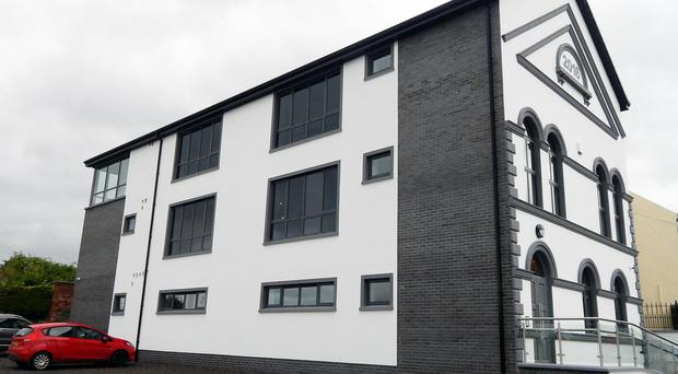 The new building in Limavady