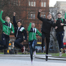 Athletes celebrate news NI is to host 2021 Commonwealth Youth Games