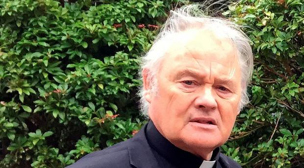Fr Paddy O'Kane is cutting the length of his sermons in a bid to appeal to families