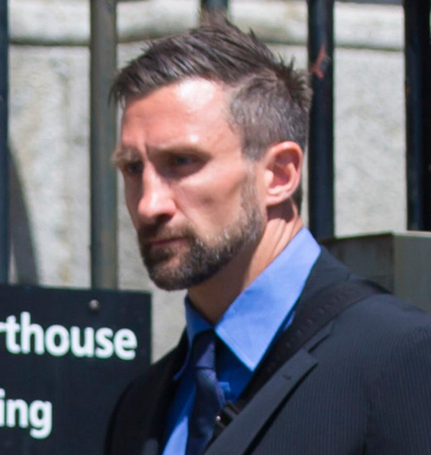 Her estranged husband and former Ulster Rugby player Simon Danielli