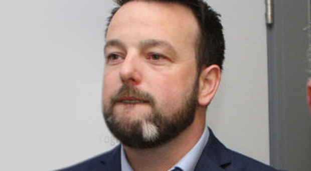 Colum Eastwood at the count in Foyle earlier this month
