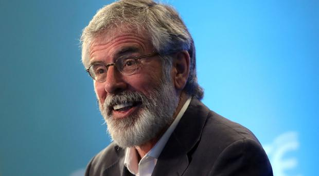 Sinn Fein Leader Gerry Adams predicted a successful vote to end partition in Ireland could come within a 'few short years'