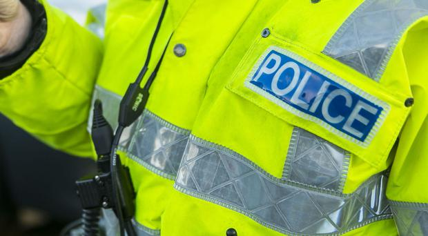 The PSNI arrested two men after another man was hit with a hatchet in the Glenrosa Link area of Belfast
