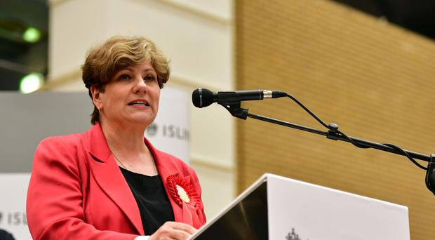 Emily Thornberry led Labour criticism of the deal