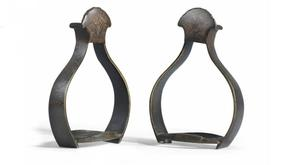 The stirrups worn by King Billy at the Battle of the Boyne could featch £60,000 at auction