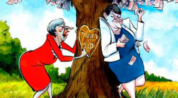 Some examples of the cartoons that have appeared in the Press and social media - The Times