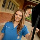 Hats off to nurse Stephanie Burton, who works in Altnagelvin Hospital