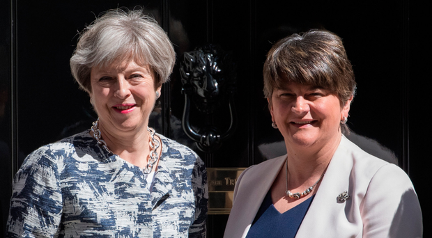The report says a £1bn boost following DUP's leader Arlene Foster's deal to prop up Theresa May's government,