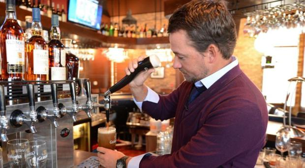 Graeme McDowell is enjoying some home comforts during this week's Irish Open.