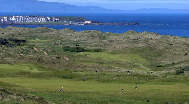 The Royal Portrush Golf Course in County Antrim