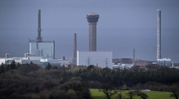 A small number of incidents were recorded at Sellafield, one case involving an operator receiving radioactive contamination to a hand