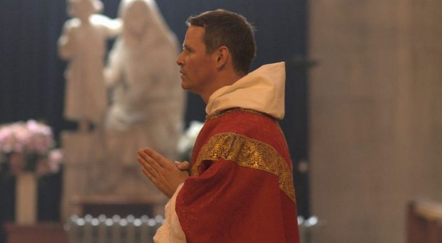 Father Philip Mulryne during his ordination ceremony