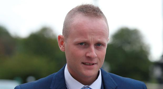 Loyalist Jamie Bryson has thrown down the gauntlet to unionist councillors in Belfast over a High Court injunction preventing more material being brought to four bonfires