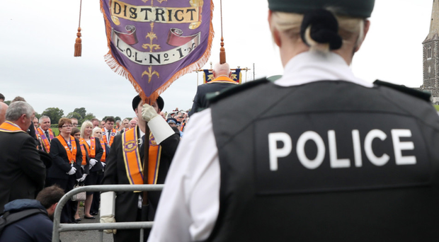 Rerouted: Drumcree parade