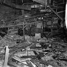 The scene of the bomb attack at the Mulberry Bush pub in Birmingham in 1974