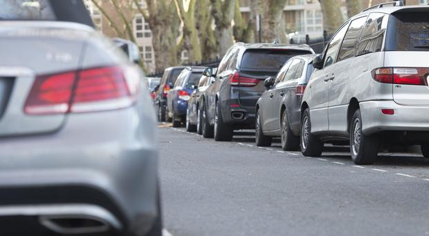 A study finds drivers spend 44 hours a year on average looking for a parking space, typically costing £733 in time, fuel and emissions