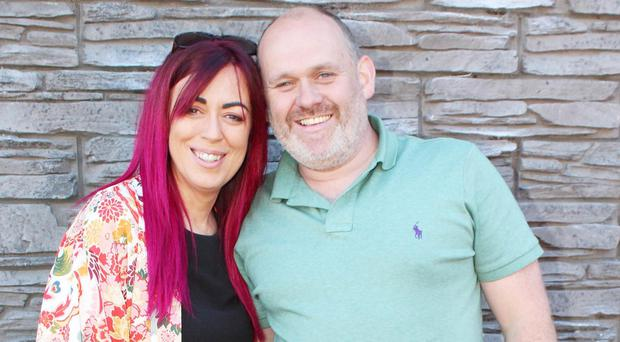 Andrea McAleese and her fiance, Tommy McConaghy