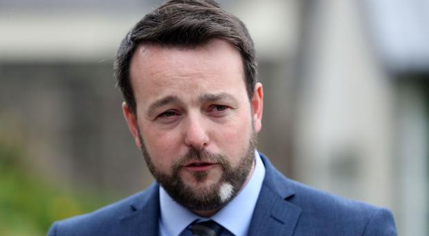 SDLP leader Colum Eastwood warned that the Stormont Executive must be restored in order