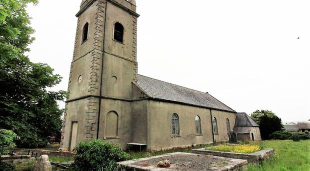 The former St John's Parish Church in Hilltown is up for sale