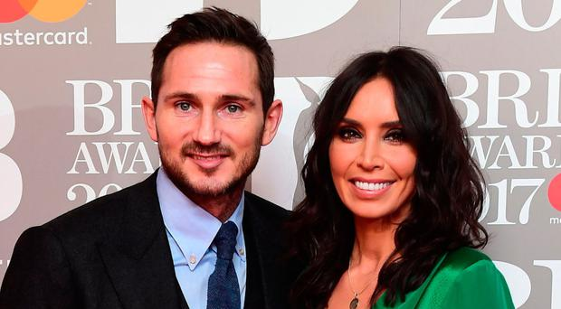Christine Bleakley with husband Frank Lampard