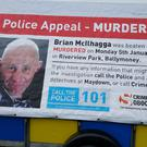 Brian McIlhagga was killed in 2015 (PSNI/PA)
